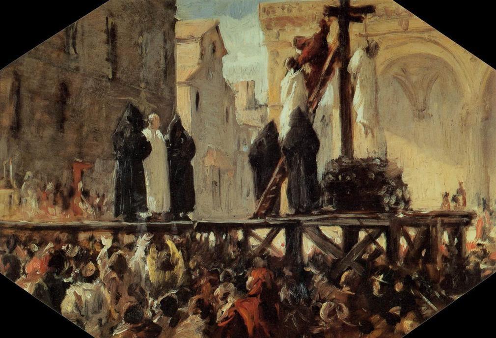 exécution de Savonaole Stefano Ussi (1822-1901) .jpg