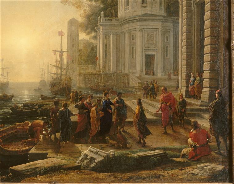 Le Débarquement de Cléopâtre à Tarse