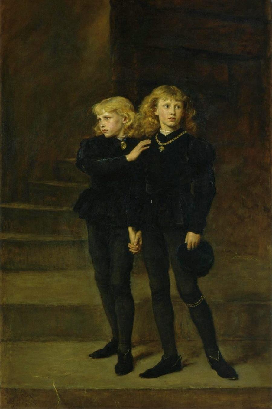 Millais, Les princes dans la Tour