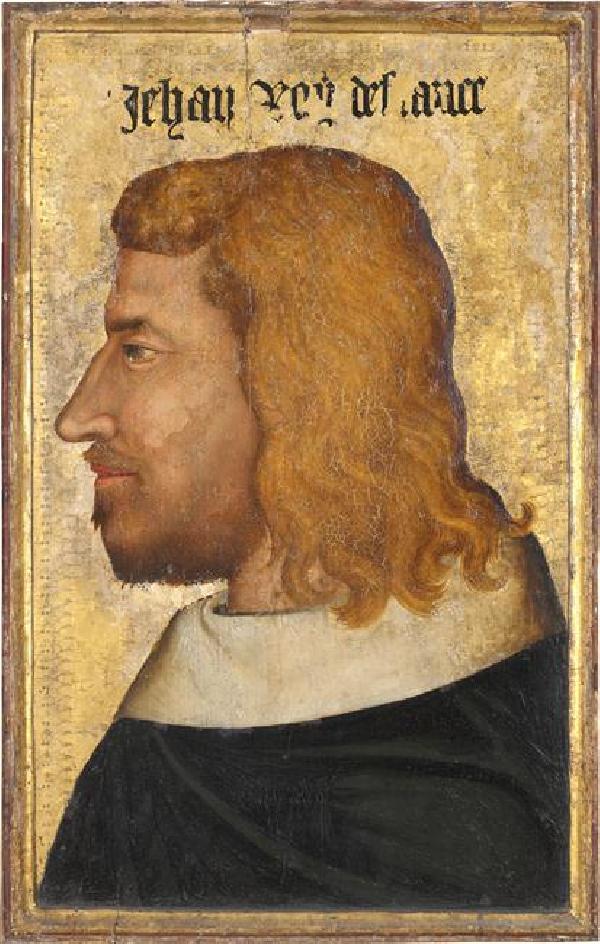 Portrait de Jean II le Bon, XIVe siècle, Musée du Louvre, Paris, ©RMN