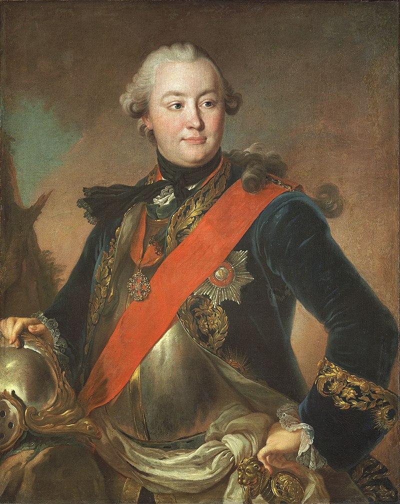 Fedor Rokotov, Grigori Orlov, 1762-1763