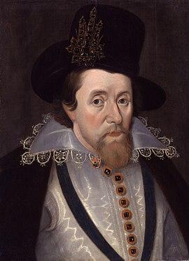 King James I of England and VI of Scotland by John De Critz the Elder, National Portrait Gallery.jpg