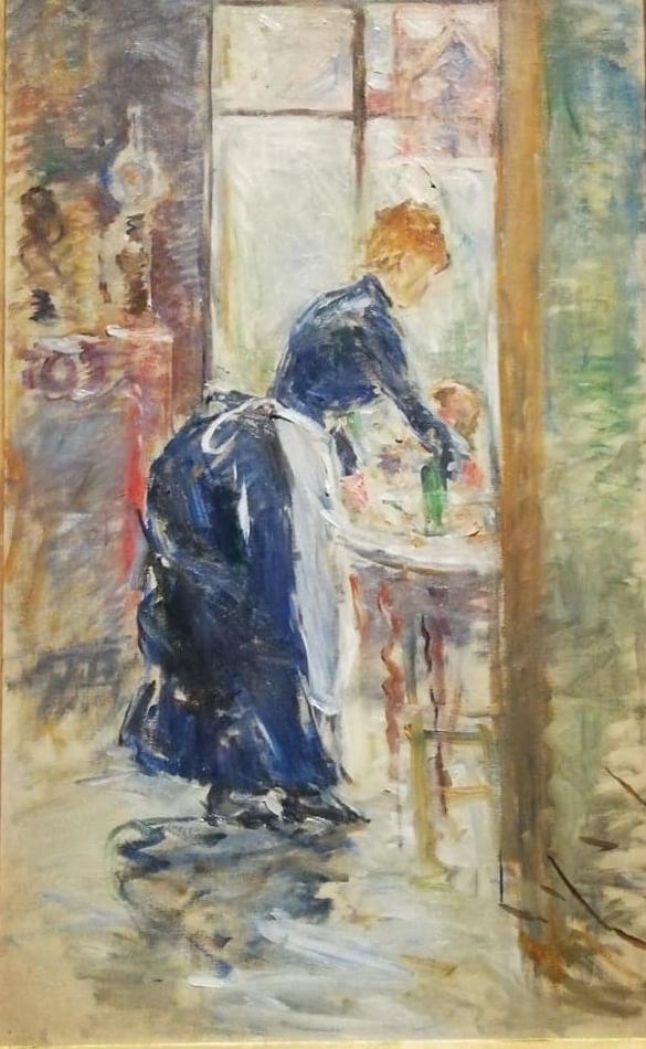 Morisot article (2) La petite servante 1886
