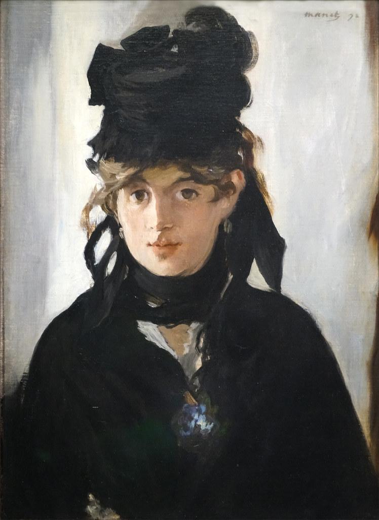 Morisot Article Berthe Morisot par Edouard Manet 1872 Flickr.jpg