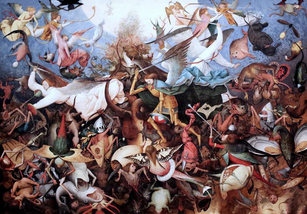 Bruegel la chute des anges rebelles Flickr
