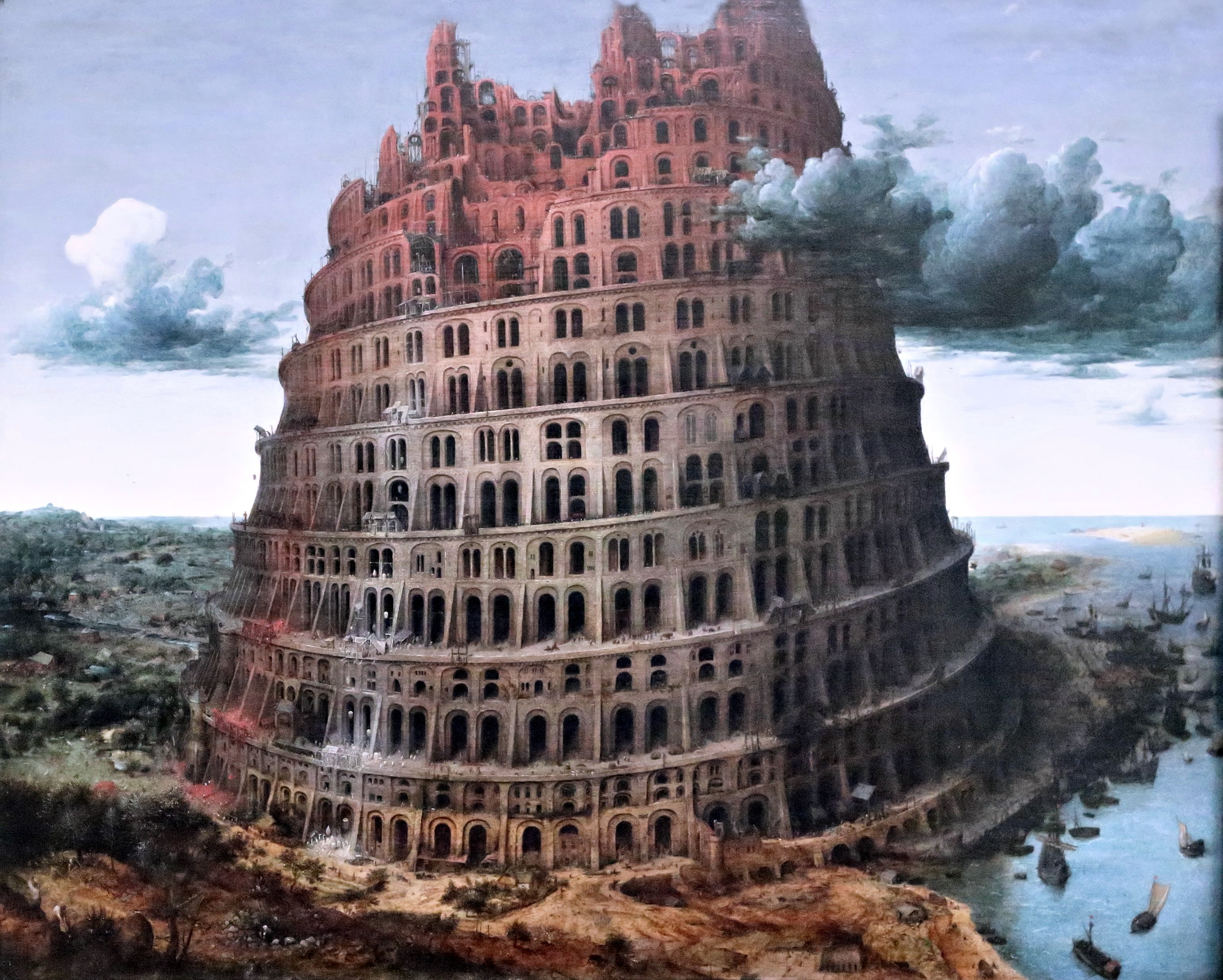 Bruegel - Le tour de Babel, Flickr.jpg