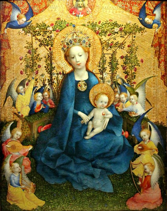 Madonna of the Rose garden 1448